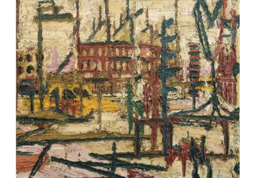 Frank Auerbach exhibition