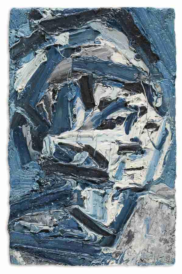 Frank Auerbach-Portrait Of E.O.W.-1971