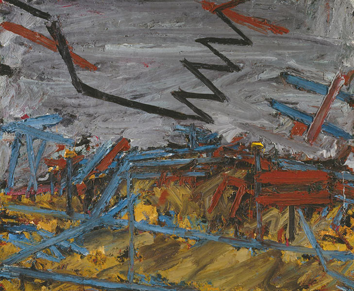The artist's paintings are on view at the permanent collection of tate in britain