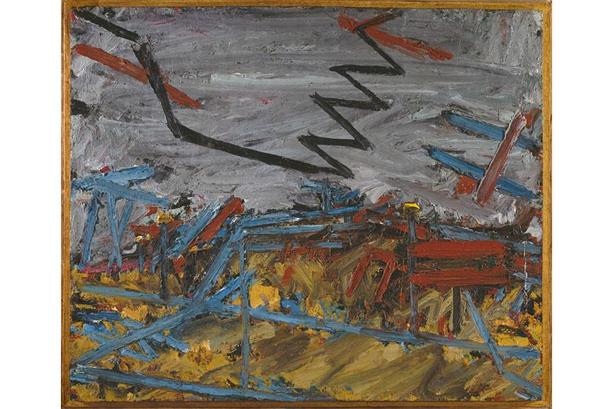 Frank Auerbach - Primrose Hill, 1967-8