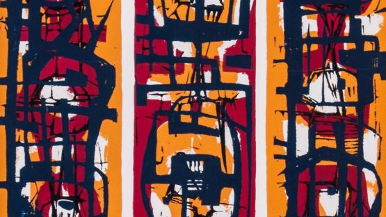 Frank Avray Wilson - Untitled, 1956 (Detail) - Image source Dreweatts