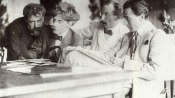 Frank Eugene - Eugene, Stieglitz, Kühn and Steichen Admiring the Work of Eugene, 1907