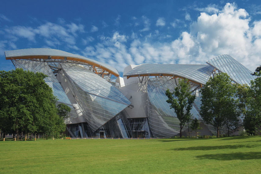 Frank Gehry - Fondation Louis Vuitton - image via architectmagazine