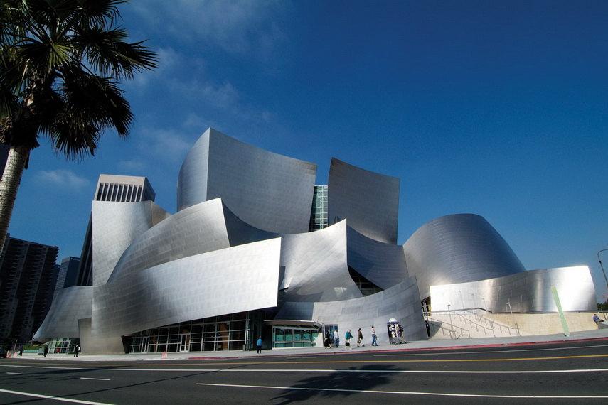 Frank Gehry - Walt Disney Concert Hall - image via pinterest