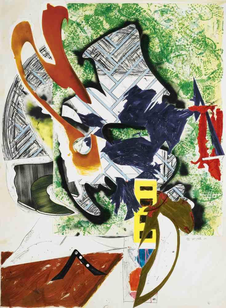 Frank Stella-Ahab's Leg-1989
