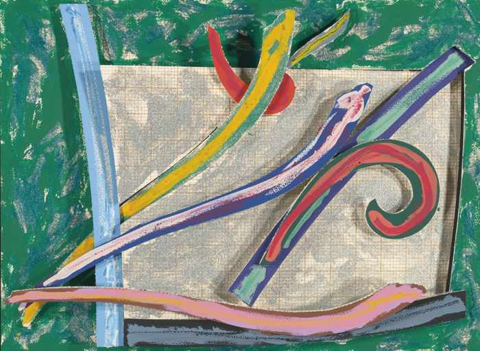 Frank Stella-Bermuda Petrel-1977