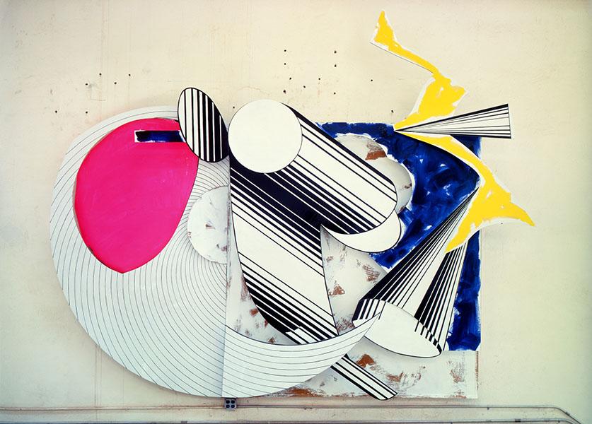 Frank Stella - Diavolozoppo, 1984