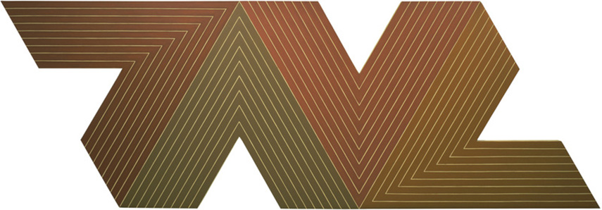whitney museum frank stella american works work painting paintings collection work