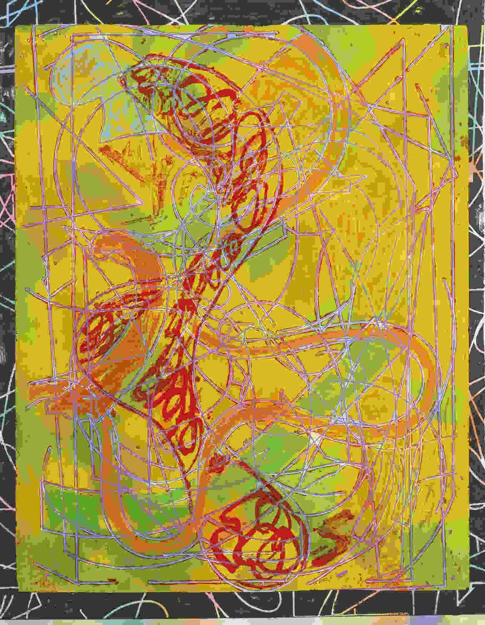 Frank Stella-Estoril Five I-1982