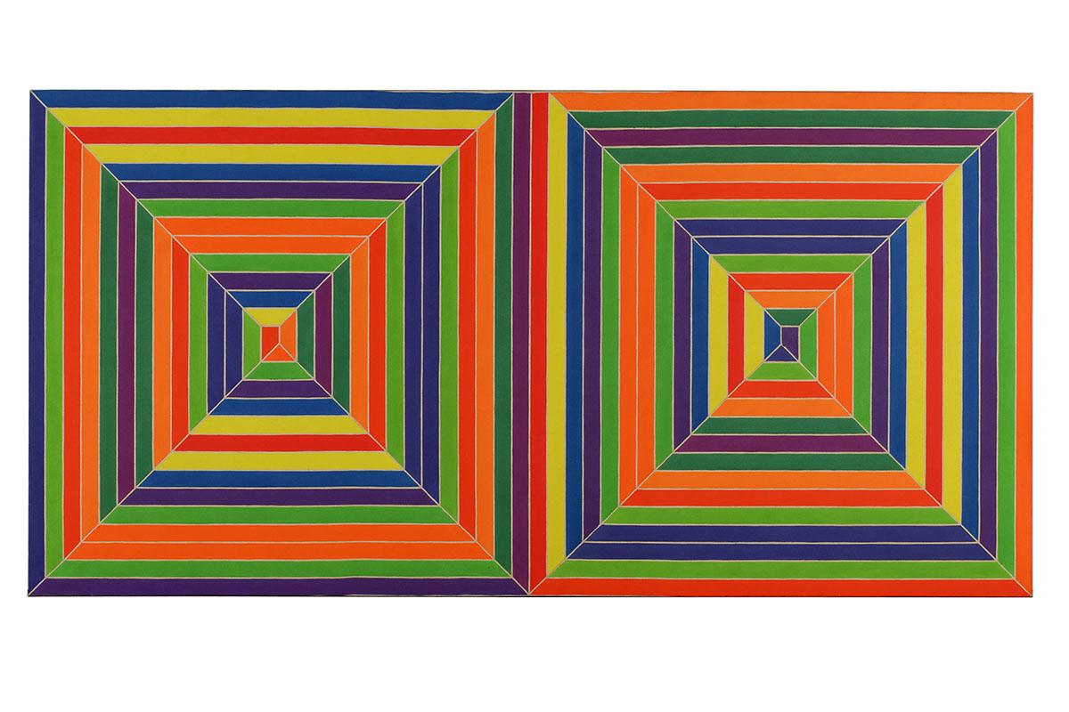 Frank Stella - Fortin de las Flores, 1966