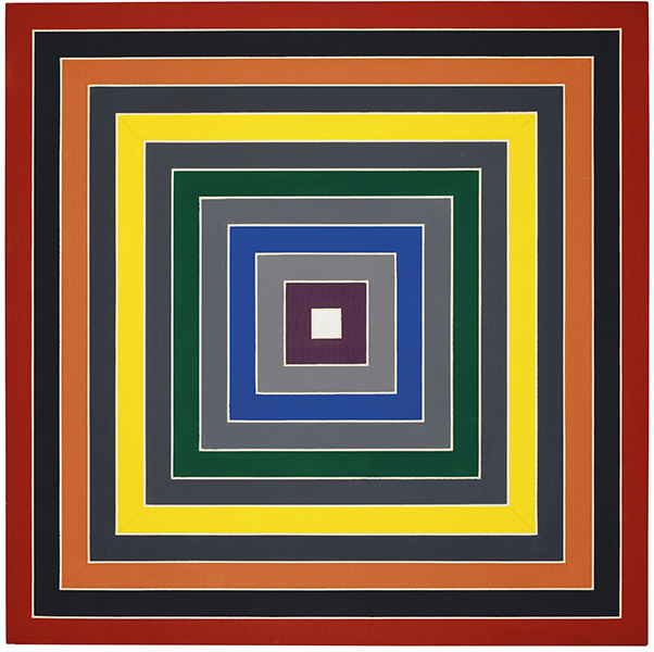 Frank Stella - Gray Scramble IX (Single)