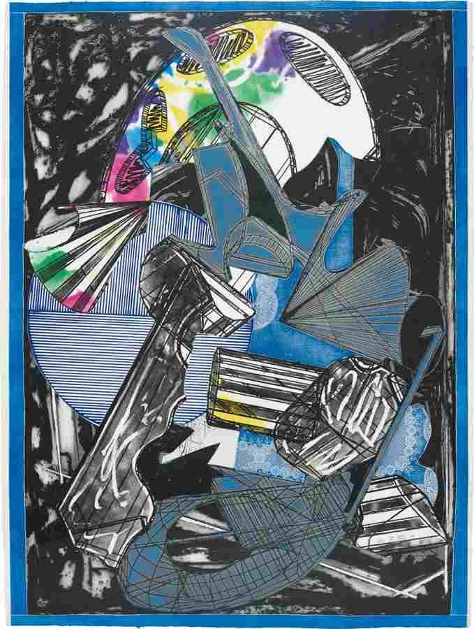 Frank Stella-Guifa e la beretta rossa-1989