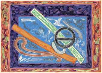 Frank Stella-Jerdon's Courser-1980
