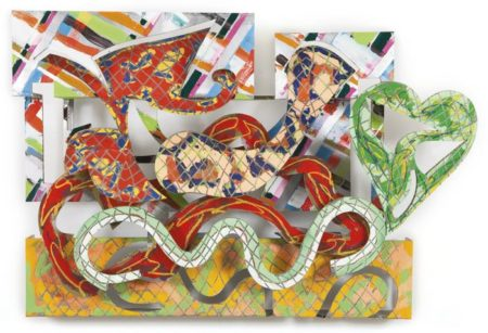 Frank Stella-Pergusa (From The Circuit Series)-1981