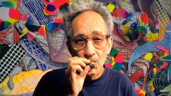 Frank Stella - Photo of the artist - Image via observer terms