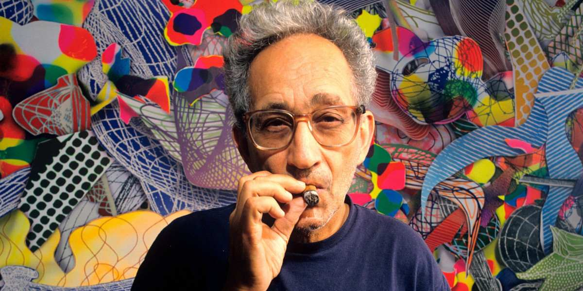 Frank Stella Photo of the artist Image via observer