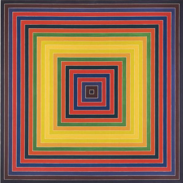 Frank Stella-Promenade Du Sceptique-1974
