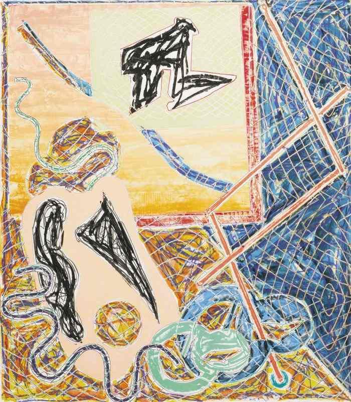 Frank Stella-Shards I-1982
