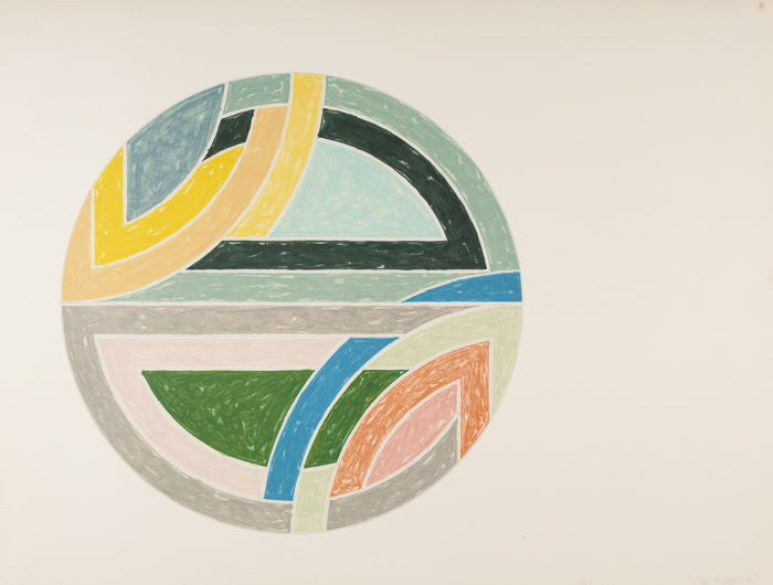 Frank Stella-Sinjerli Variation IIa-1977