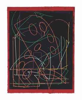 Frank Stella-Talladega Five I-1982