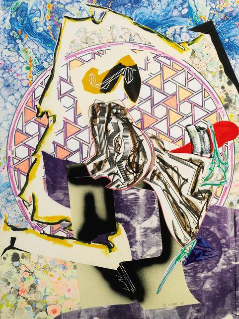 Frank Stella-The Great Heidelburgh Tun-1985