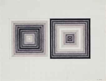 Frank Stella-Untitled-1963