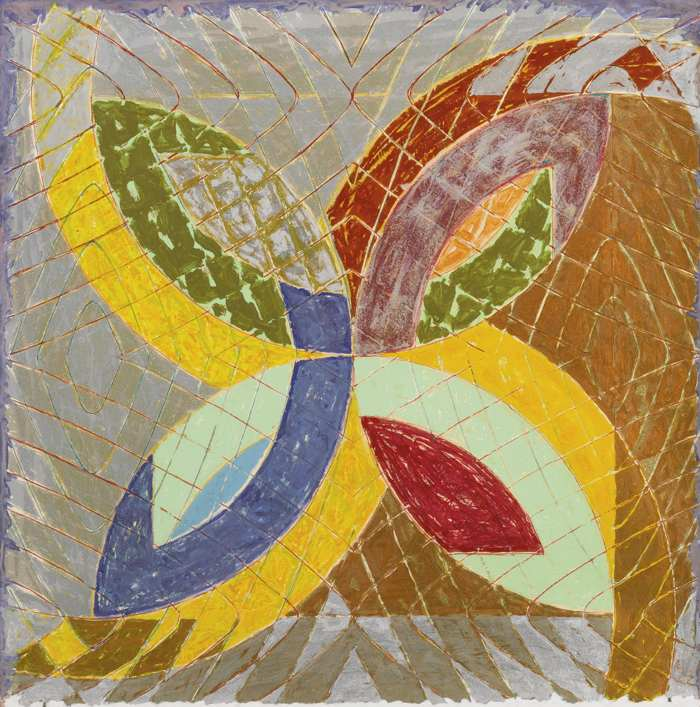 Frank Stella-Untitled (Polar Co-Ordinate)-1979