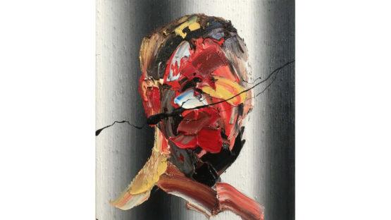 Frans Smit - Reflection on Grey Stripes, 2017