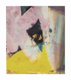Franz Kline-Black Angle with Yellow-1959