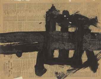 Franz Kline-Untitled-1953