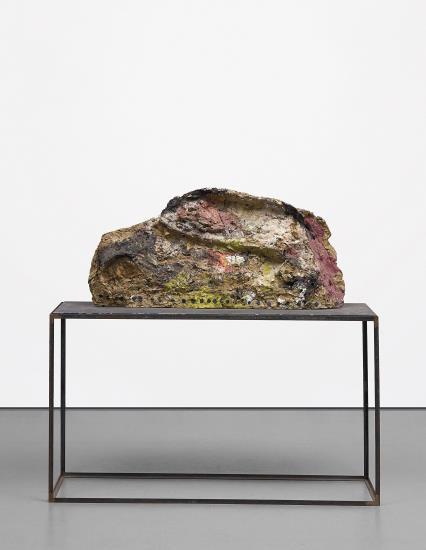 Franz West-Ohne Title (Landschaft)-1984