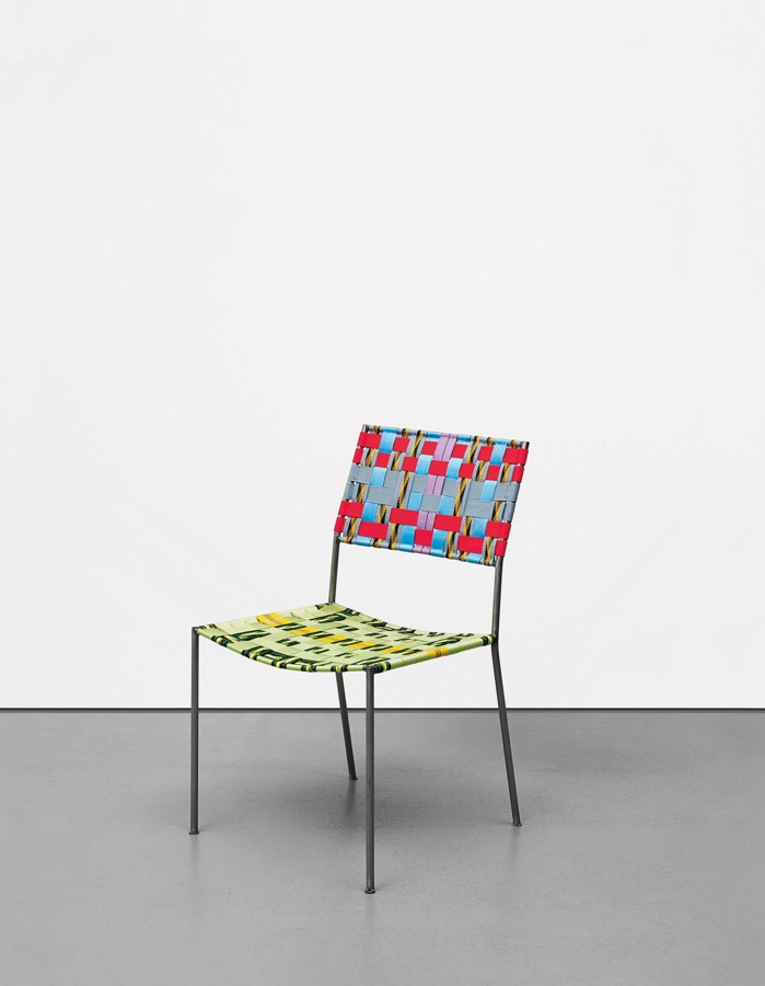 Franz West-Onkel Stuhl (Uncle Chair)-2007