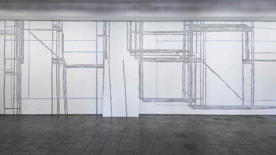 Frauke Schlitz - Response, Galerie der Stadt Kirchheim Germany, 2017, installation view