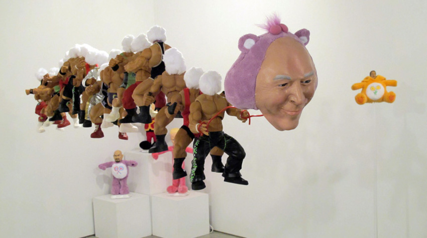Fred Fleisher - The Beast, ISE Culutural Foundation, New York City, 2011, installation view