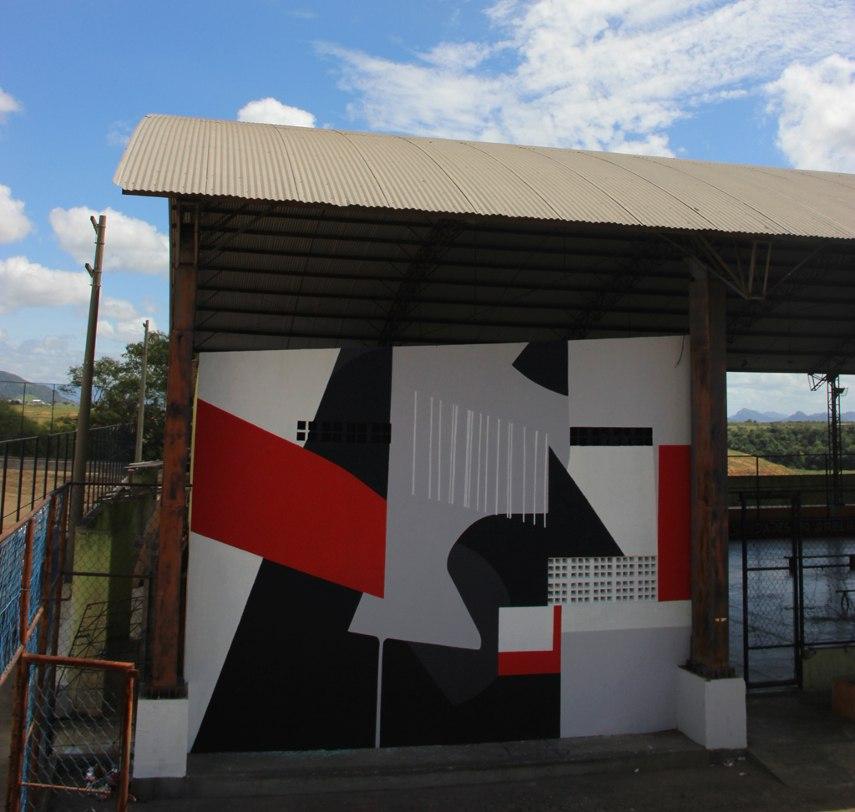 Fredone Fone - mural in Espirito Santo