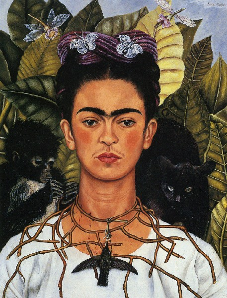 Kahlo's Self-Portrait, 1940