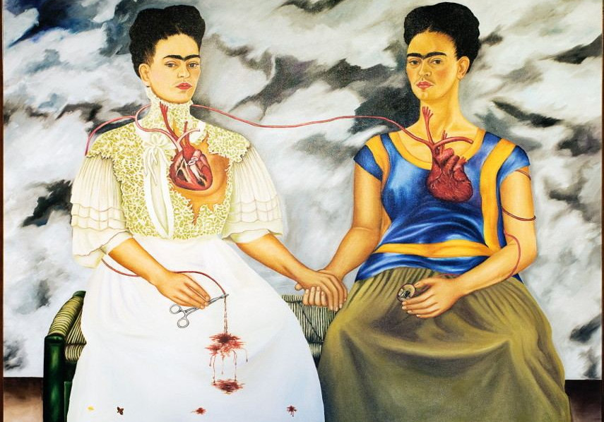 Frida Kahlo - The Two Fridas, 1939
