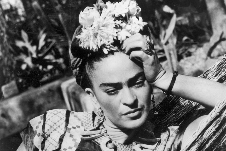 Frida Kahlo; one of the most famous female painters in the world