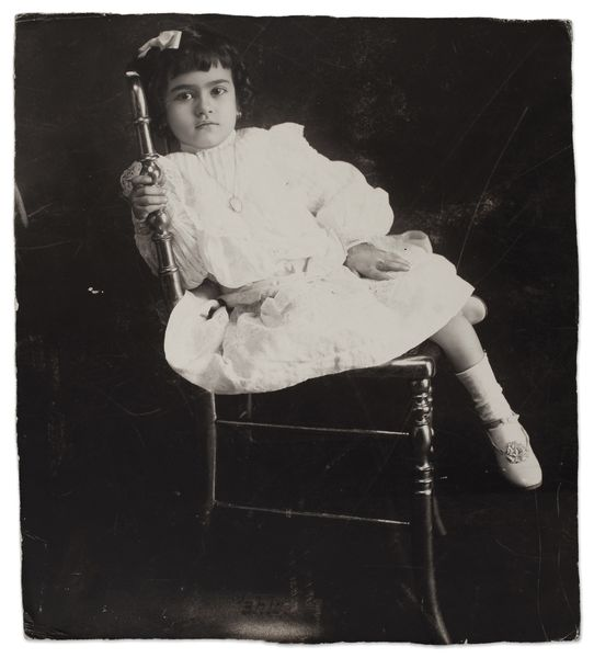 Frida at the age of 5, Anonymous, 1912
