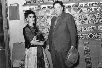 frida kahlo kahlo mexico mexican painting pain self paintings portrait home museum work city 1954 biography