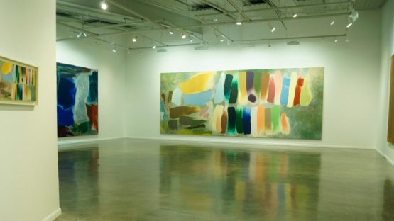 Friedel Dzubas - Monumental Works, 2014, Sam and Adele Golden Gallery, installation view, photo credits - Golden Paints