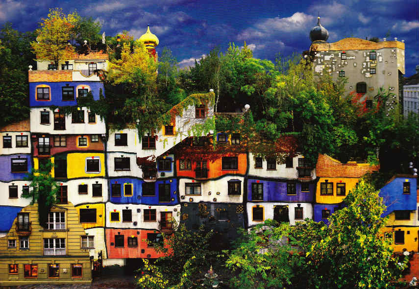 Biography Of Friedensreich Hundertwasser Widewalls