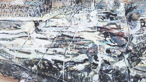 Friedhelm Lach - AMMONITE TOWN, 1988 - Image via mutualartcom