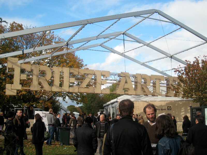 Frieze Art Fair, photo by John Dege