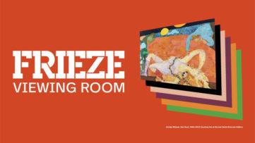 Frieze Viewing Room New York 2020
