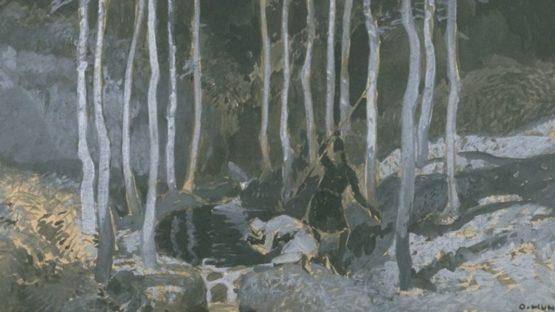 Fritz Lang - Die Nibelungen Siegfrieds Tod (La Mort de Siegfried), 1923 - Image via lacma