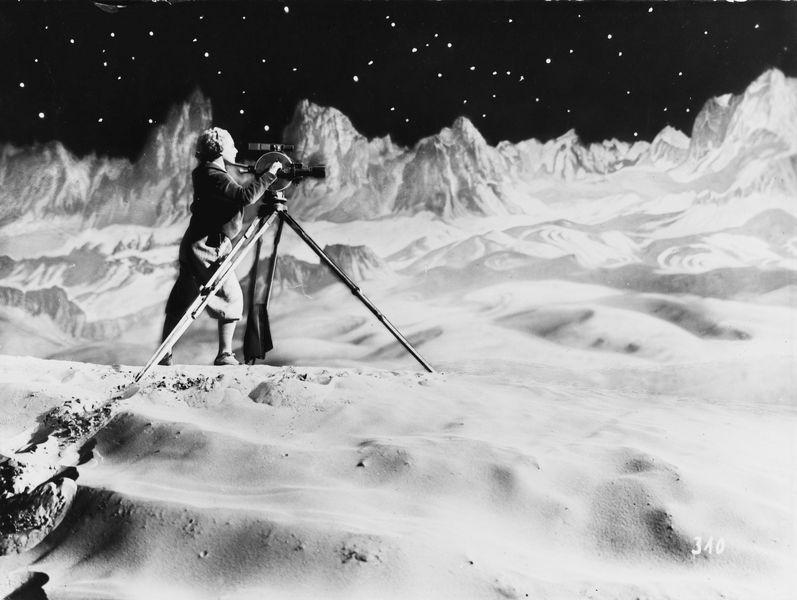 Fritz Lang - Frau im Mond, 1929, print