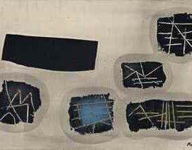 Fritz Winter-Zerbrochene Tafeln-1953