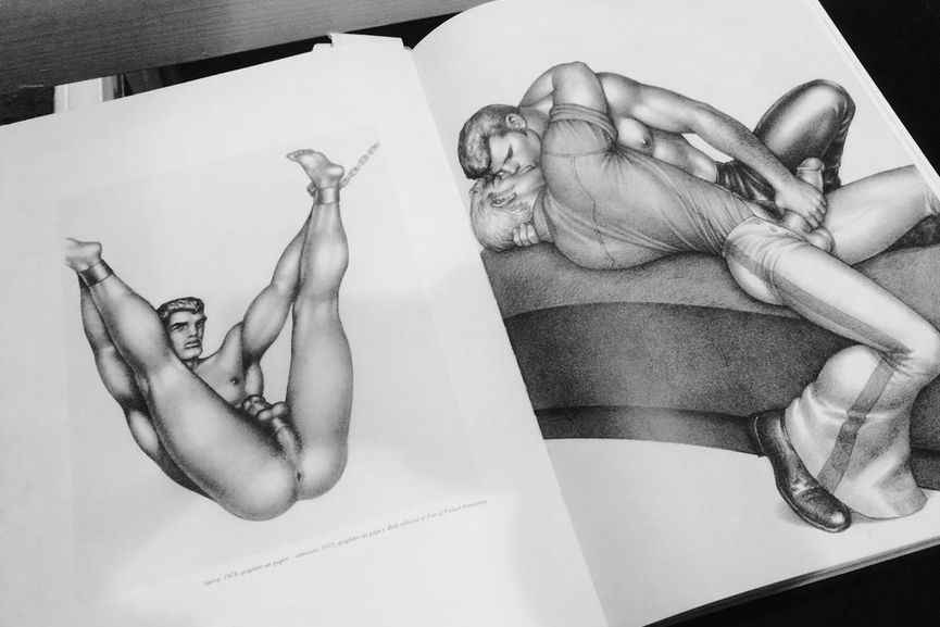 From the Tom of Finland Foundation in Los Angeles