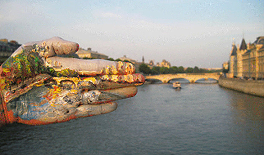 Fulati Tayierjiang - La main dans le paysage dans la main  #43, 2012
